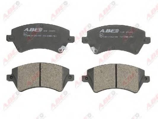 Гальмівні колодки, дискові ABE арт. C12101ABE