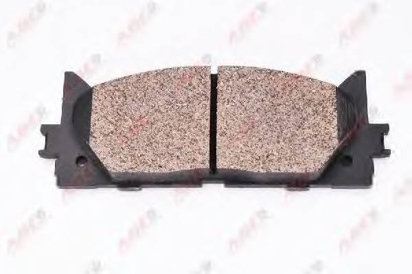 Гальмівні колодки, дискові ABE арт. C12120ABE