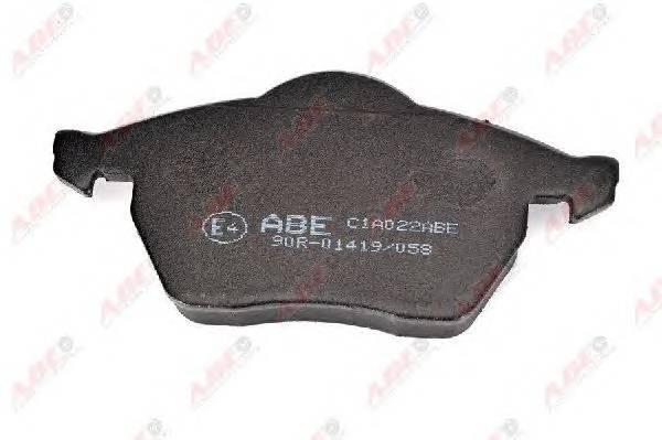 Гальмівні колодки, дискові ABE арт. C1A022ABE