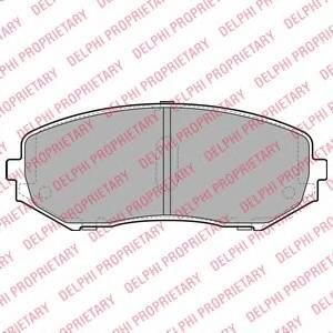 Гальмівні колодки, дискові ABE арт. LP2001