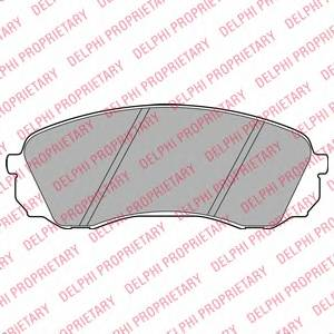 Гальмівні колодки, дискові ABE арт. LP2094
