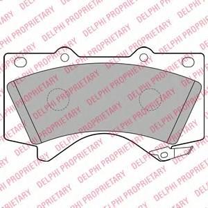 Гальмівні колодки, дискові ABE арт. LP2134
