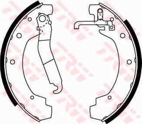 Тормозные колодки Тормозные колодки барабанные ABE арт. GS8151