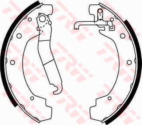 Тормозные колодки Тормозные колодки барабанные PAGID арт. GS8151