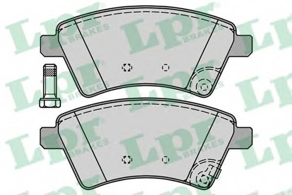 Тормозные колодки Тормозные колодки дисковые ABE арт. 05P1245