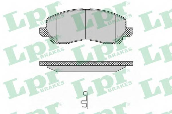 Тормозные колодки Тормозные колодки дисковые PAGID арт. 05P1347