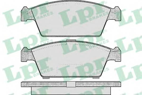 Тормозные колодки Тормозные колодки PAGID арт. 05P213