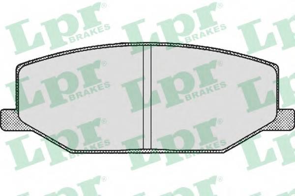 Тормозные колодки Тормозные колодки дисковые ABE арт. 05P290