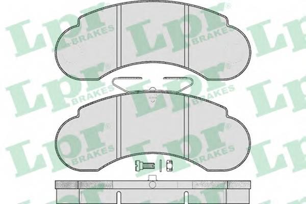 Тормозные колодки Тормозные колодки дисковые ABE арт. 05P415