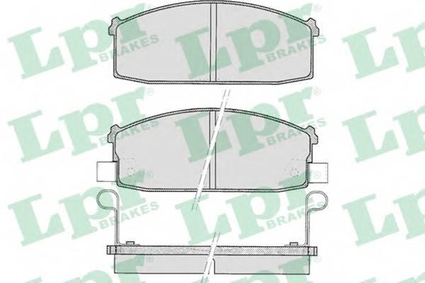 Тормозные колодки Тормозные колодки дисковые ABE арт. 05P527