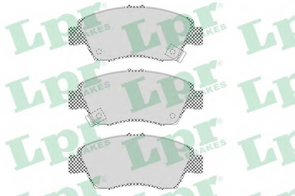 Тормозные колодки Тормозные колодки дисковые PAGID арт. 05P564