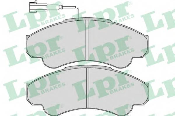 Гальмівні колодки, дискові PAGID арт. 05P967