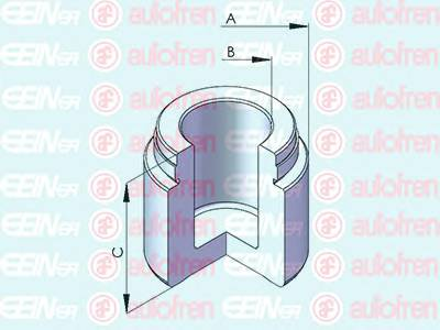 Поршень гальм. супорта перед. (Brembo 40x32mm) Bmw 5 (E34), 7 (E38) /MB C (W203, S203, CL203), E (W211, S211), M (W163), S (W220) AUTOFREN/SEINSA D025485
