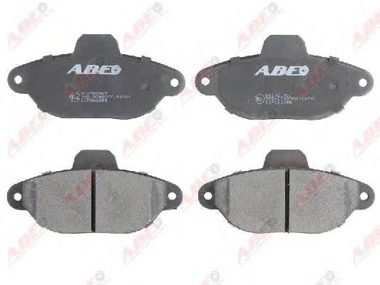 Гальмівні колодки, дискові ABE арт. C1F062ABE