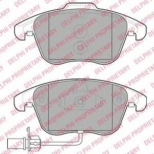 Гальмівні колодки, дискові ABE арт. LP2107