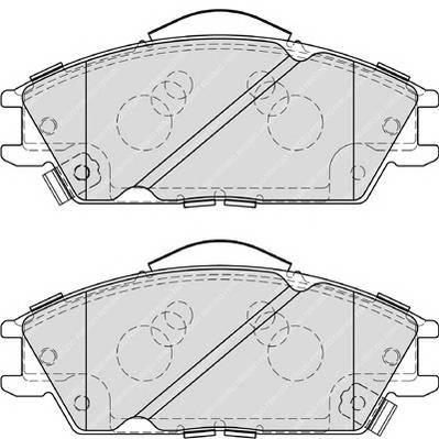 Тормозные колодки Тормозные колодки Ferodo ABE арт. FDB4076