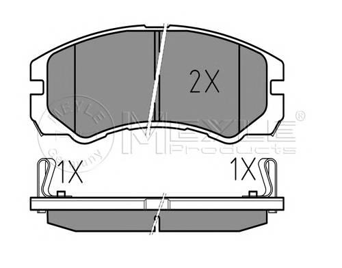 Тормозные колодки Тормозные колодки дисковые PAGID арт. 0252184516W