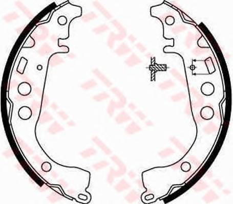 Тормозные колодки Тормозные колодки барабанные ABE арт. GS8673