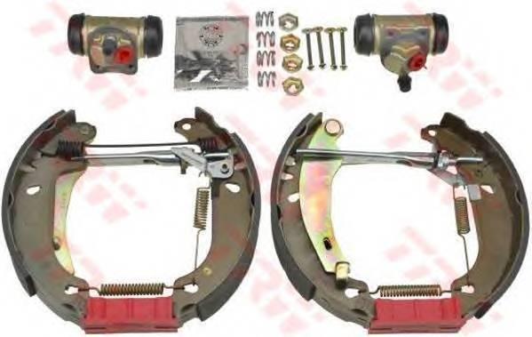 Тормозные колодки Тормозные колодки барабанные PAGID арт. GSK1017