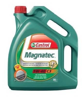 Масло моторное Magnatec C3 5W40  5L  (API SN/CF, MB 229.31, VW 502 00/505 00, BMW Longlife-04, Renau CASTROL 58685