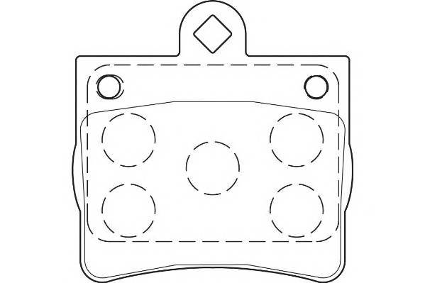Тормозные колодки Тормозные колодки Wagner PAGID арт. WBP21900A