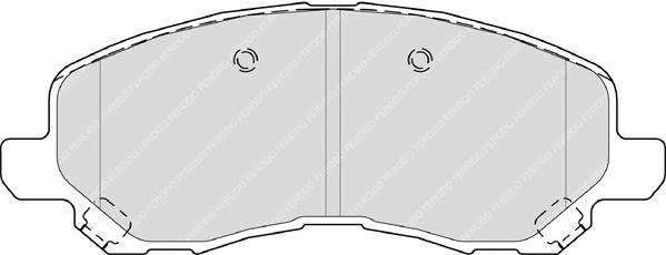 Тормозные колодки Тормозные колодки Ferodo PAGID арт. FDB4388