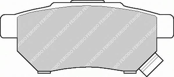 Тормозные колодки Тормозные колодки Ferodo PAGID арт. FDB621