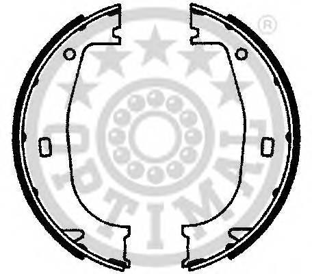 Тормозные колодки Тормозные колодки OPTIMAL арт. BB4060