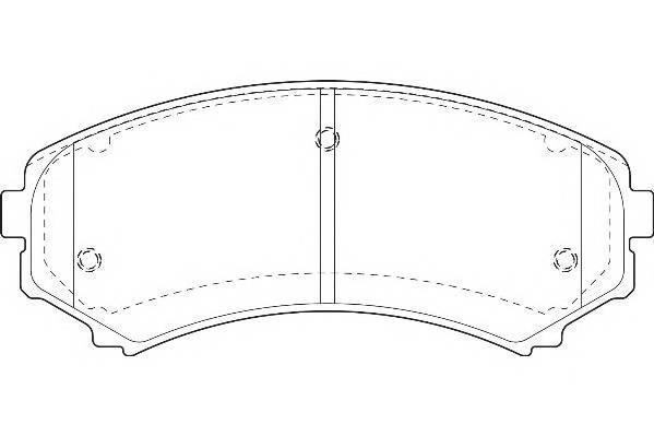 Тормозные колодки Тормозные колодки Wagner PAGID арт. WBP23488A