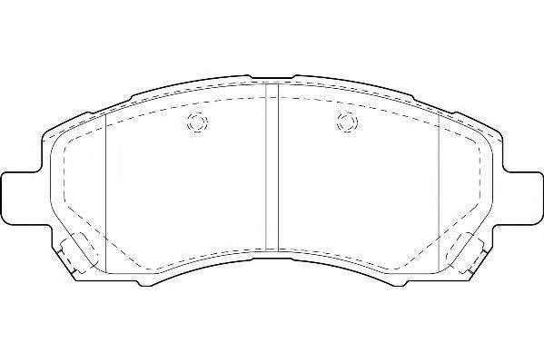 Тормозные колодки Тормозные колодки Wagner PAGID арт. WBP23780A