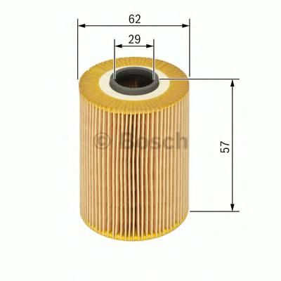 Масляные фильтры Фільтр масляний BOSCH арт. F026407091