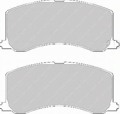 Тормозные колодки Тормозные колодки дисковые ABE арт. FDB1100