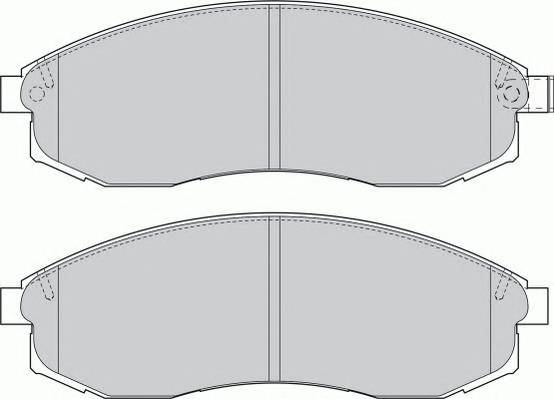 Тормозные колодки Тормозные колодки Ferodo PAGID арт. FDB1646