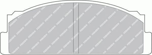 Тормозные колодки Тормозные колодки Ferodo ABE арт. FDB29