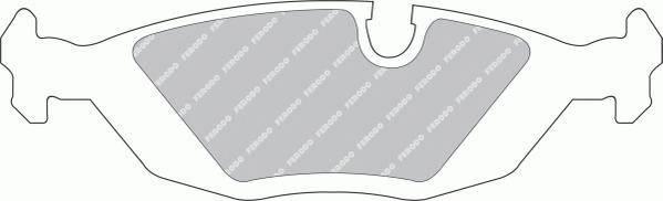 Тормозные колодки Тормозные колодки Ferodo PAGID арт. FDB296