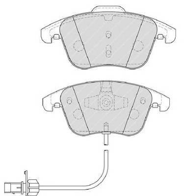 Тормозные колодки Тормозные колодки Ferodo ABE арт. FDB4045