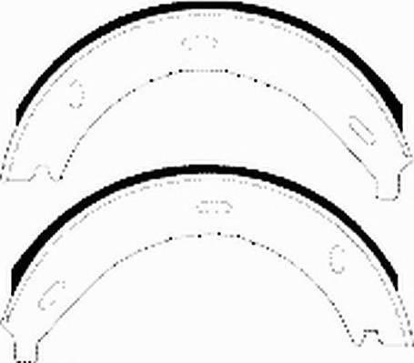 Тормозные колодки Тормозные колодки барабанные Ferodo PAGID арт. FSB536