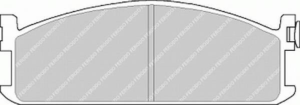 Тормозные колодки Тормозные колодки дисковые PAGID арт. FVR418