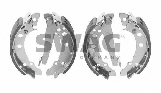 Тормозные колодки Тормозные колодки барабанные SWAG арт. 30908202