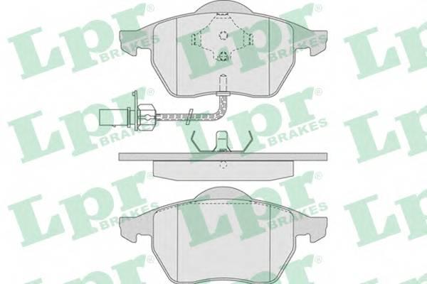 Тормозные колодки Тормозные колодки дисковые PAGID арт. 05P790