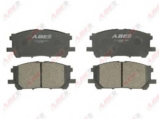 Гальмівні колодки, дискові ABE арт. C12108ABE
