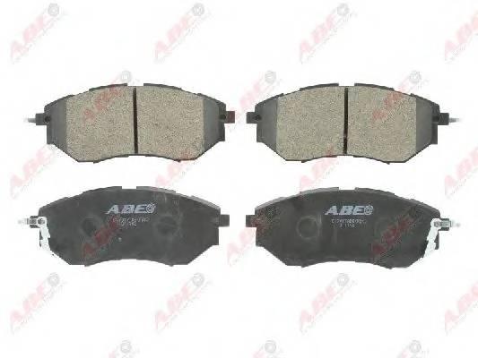 Гальмівні колодки, дискові ABE арт. C17017ABE