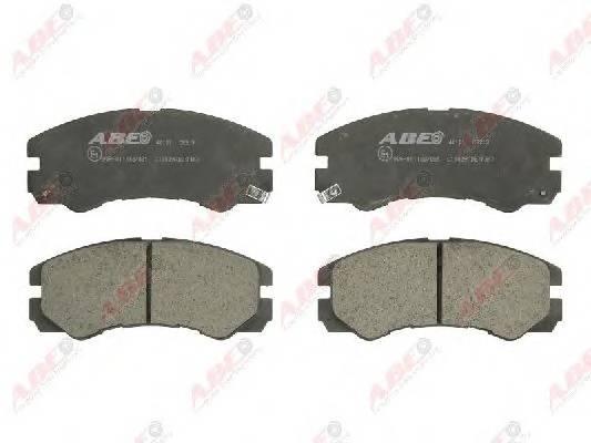 Гальмівні колодки, дискові ABE арт. C19009ABE