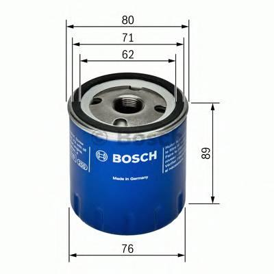 Масляные фильтры Фільтр масляний BOSCH арт. 0451103261