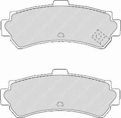 Тормозные колодки Тормозные колодки Ferodo PAGID арт. FDB1454