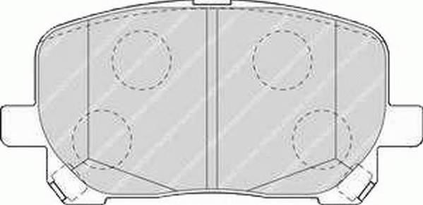 Тормозные колодки Тормозные колодки дисковые ABE арт. FDB1529