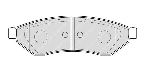 Тормозные колодки Тормозные колодки дисковые PAGID арт. FDB1986
