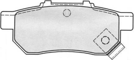 Тормозные колодки Тормозные колодки Ferodo PAGID арт. FDB778