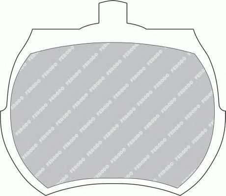 Тормозные колодки Тормозные колодки дисковые PAGID арт. FDB824