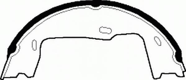 Тормозные колодки Тормозные колодки барабанные PAGID арт. FSB227